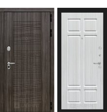 Дверь Лабиринт SCANDI Дарк грей 08 - Кристалл вуд