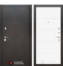 Дверь Лабиринт SILVER 13 - Белый софт