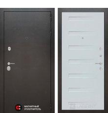Дверь Лабиринт SILVER 14 - Дуб кантри белый горизонтальный