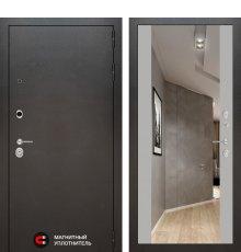 Дверь Лабиринт SILVER с Зеркалом Максимум - Софт Грей
