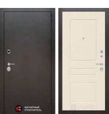 Дверь Лабиринт SILVER 03 - Крем софт