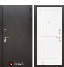 Дверь Лабиринт SILVER 11 - Белый софт