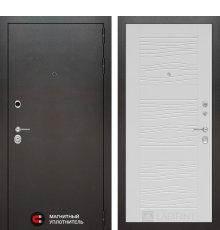 Дверь Лабиринт SILVER 06 - Белое дерево