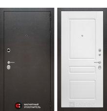 Дверь Лабиринт SILVER 03 - Белый софт