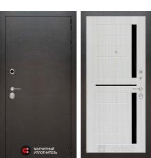 Дверь Лабиринт SILVER 02 - Сандал белый