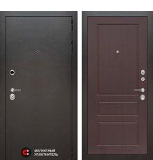Дверь Лабиринт SILVER 03 - Орех премиум