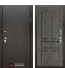 Дверь Лабиринт Сильвер 10 - Дуб филадельфия графит