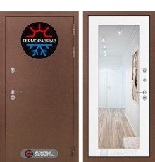 Дверь Лабиринт Термо Магнит с Зеркалом 18 - Белое дерево