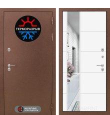 Дверь Лабиринт Термо Магнит с Зеркалом 19 - Белый софт