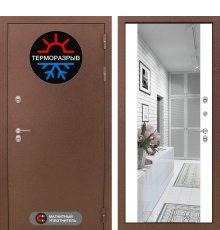 Дверь Лабиринт Термо Магнит с Зеркалом Максимум - Белый софт