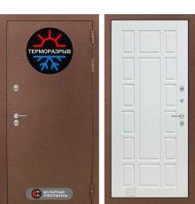 Дверь Лабиринт Термо Магнит 12 - Белое дерево