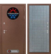 Дверь Лабиринт Термо Магнит 09 - Лен сильвер грей