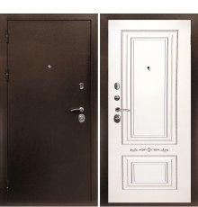 Дверная биржа Веста-4 Антик медь / Смальта-04 эмаль Ral9003