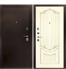 Дверная биржа Веста-4 Антик медь / Смальта-13 эмаль Ral1013