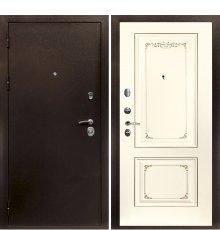 Дверная биржа Веста-4 Антик медь / Смальта-14 эмаль Ral1013