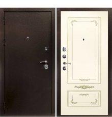 Дверная биржа Веста-4 Антик медь / Смальта- 09 эмаль Ral1013