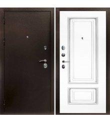 Дверная биржа Веста-4 Антик медь /Смальта -08 эмаль Ral9003