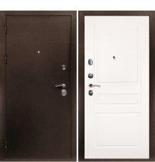 Дверная биржа Веста-4 Антик медь /Смальта-01 эмаль Ral9003