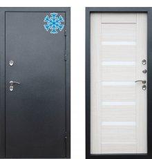 Дверь Термо Доор Сибирь термо серебро царга