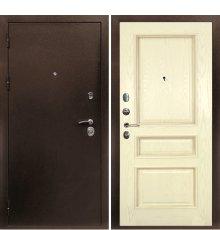 Дверная биржа Веста-4 Антик медь /Фрейм-03 шпон ясень бисквит фото