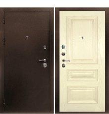 Дверная биржа Веста-4 Антик медь /Фрейм-05 шпон ясень сл.кость
