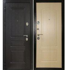 Дверная биржа Гера -1 шагрень черная Венге ФЛ-243/Беленый дуб ФЛ-138
