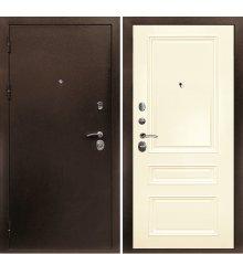 Дверная биржа Веста-4 Антик медь / Смальта-06 эмаль Ral1013 Сл.кость