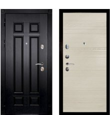 Дверная биржа Гера-2 ФЛ-2507 Венге / Комбо-01 шпон ясень Крем