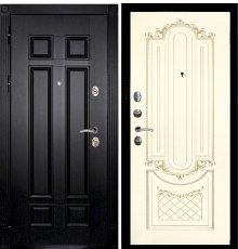 Дверная биржа Гера-2 ФЛ-2507 Венге / Смальта-13 эмаль Ral1013 Сл.кость