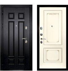 Дверная биржа Гера-2 ФЛ-2507 Венге /  Смальта-14 эмаль Ral1013 Сл.кость