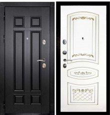 Дверная биржа Гера-2 ФЛ-2507 Венге / Смальта-05 эмаль Ral9003 Белый