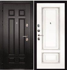 Дверная биржа Гера-2 ФЛ-2507 Венге / Смальта-08 эмаль Ral9003 Белый