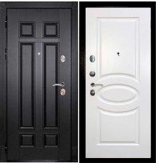 Дверная биржа Гера-2 ФЛ-2507 Венге / Смальта-12 эмаль Ral9010 Молочный