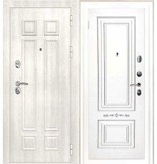 Дверная биржа Гера-2 ФЛ-2507 Дуб филадельфия крем / Смальта-04 эмаль Ral9003 Белый