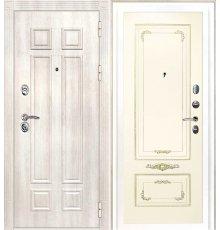 Дверная биржа Гера-2 ФЛ-2507 Дуб филадельфия крем / Смальта-09 эмаль Ral1013 Слоновая кость