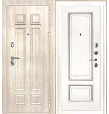 Дверная биржа Гера-2 ФЛ-2507 Дуб филадельфия крем / Смальта-08 эмаль Ral9003 Белый