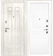 Дверная биржа Гера-2 ФЛ-2507 Дуб филадельфия крем / Смальта-01 эмаль Ral9003 Белый