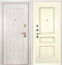 Дверная биржа Гера-2 ФЛ-2507 Дуб филадельфия крем / Фрейм-03 шпон ясень бисквит