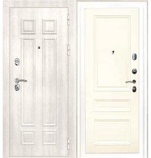 Дверная биржа Гера-2 ФЛ-2507 Дуб филадельфия крем / Смальта-06 эмаль Ral1013 Слоновая кость