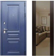 Дверь ЗД Альберо ночи панель Большое зеркало Венге