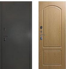 Дверь ЗД Эталон 3к алюминий панель К1 Дуб тёмный