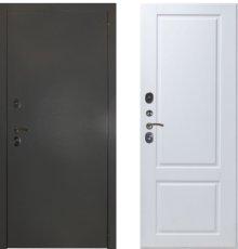 Дверь ЗД Эталон 3к алюминий панель Доррен Эмаль белая