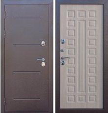 Дверь Мет. Изотерма Лиственница Мокко