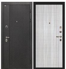 Дверь Интекрон Олимпия Black/Сандал белый L-5