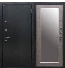 Дверь Ратибор Классик 3К Зеркало Светлый Бетон