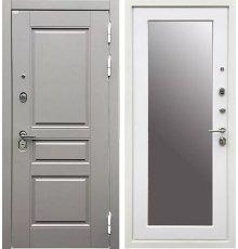 Дверь Ратибор Лондон 3К Зеркало Силк Сноу