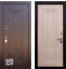Дверь Кондор Мадрид Венге / Беленый дуб
