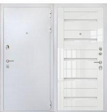 Дверь ZMD Премиум Сноу SB Белый глянец