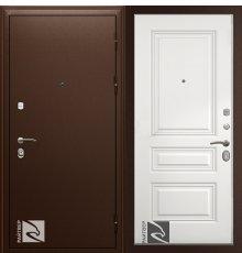 Дверь Кондор Райтвер Премьер с Накладкой Трио Грейс без патины