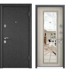Дверь Delta 100 черный шелк/ПВХ белый перламутр DМ